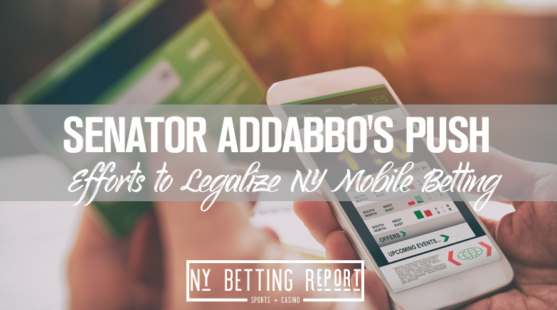 Sen. Addabbo's Push to Legalize NY Mobile Betting