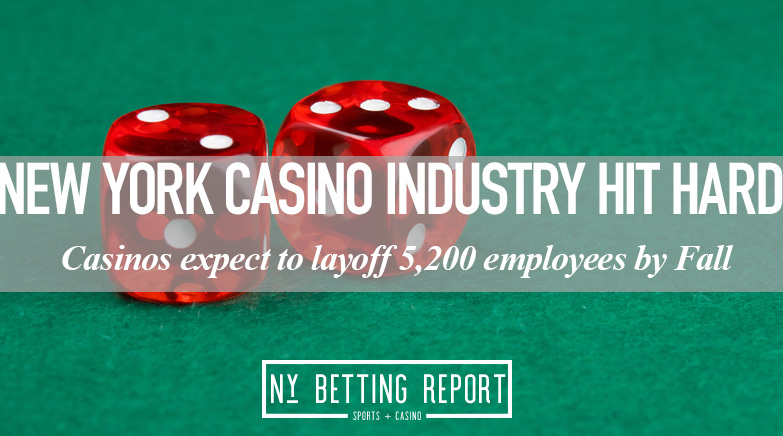 New York Casinos Send Out Layoff Notices