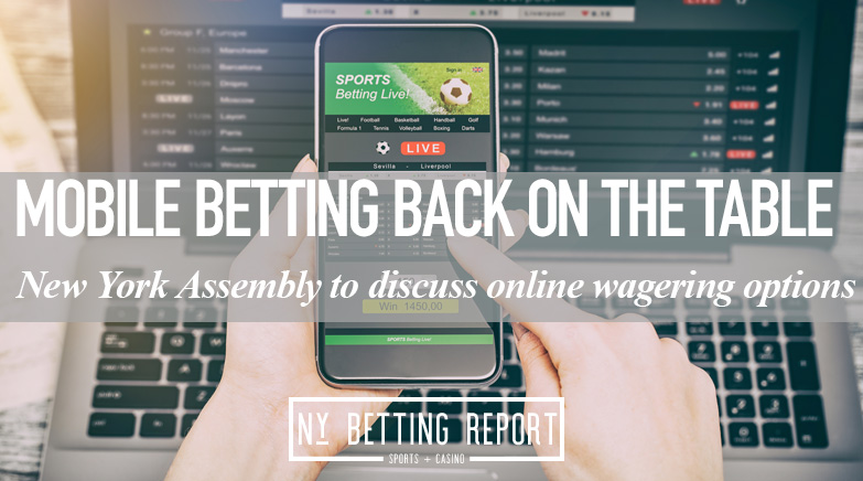 New York Assembly Looks to Move on Mobile Sports Betting