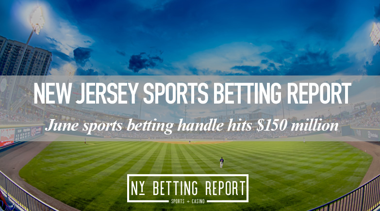 New Jersey Sports Betting Handle Hits $165 Million for June