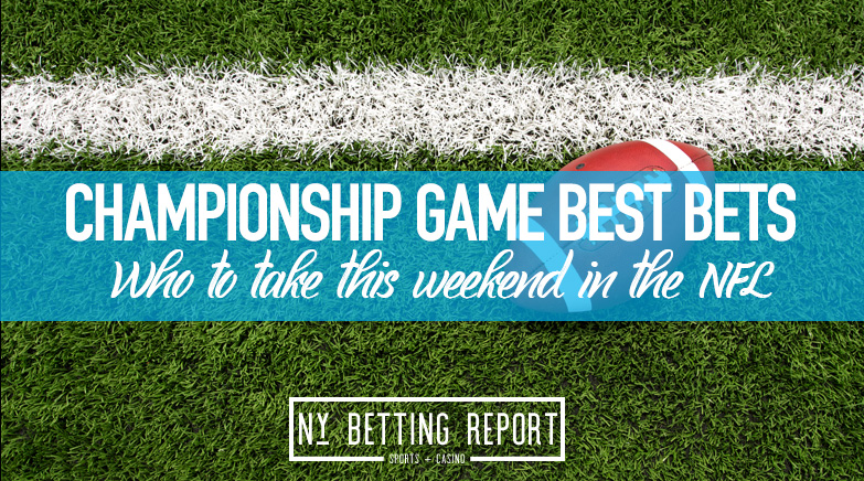 NFL Championship Weekend Best Bets