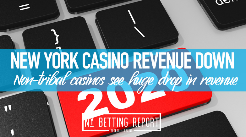 New York Casino Revenue Down $600 Million in 2020