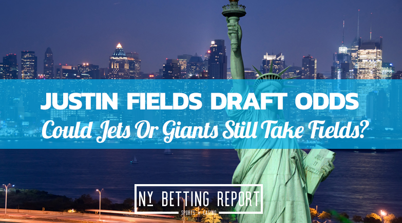 Could The Jets Pivot To Justin Fields? DraftKings Odds Show There's A Chance