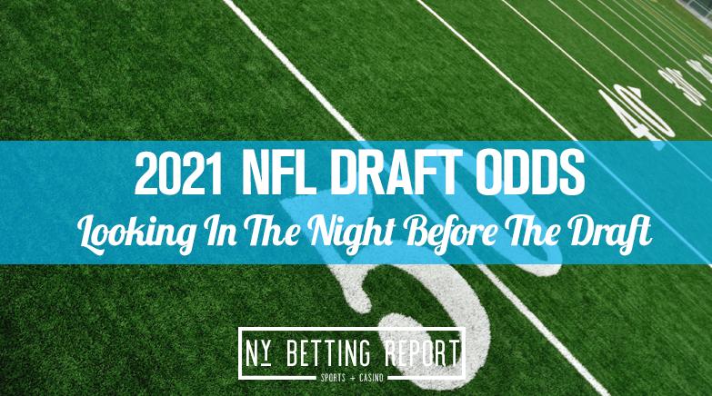 NY 2021 NFL Draft Odds