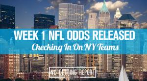 Week 1 NY Odds